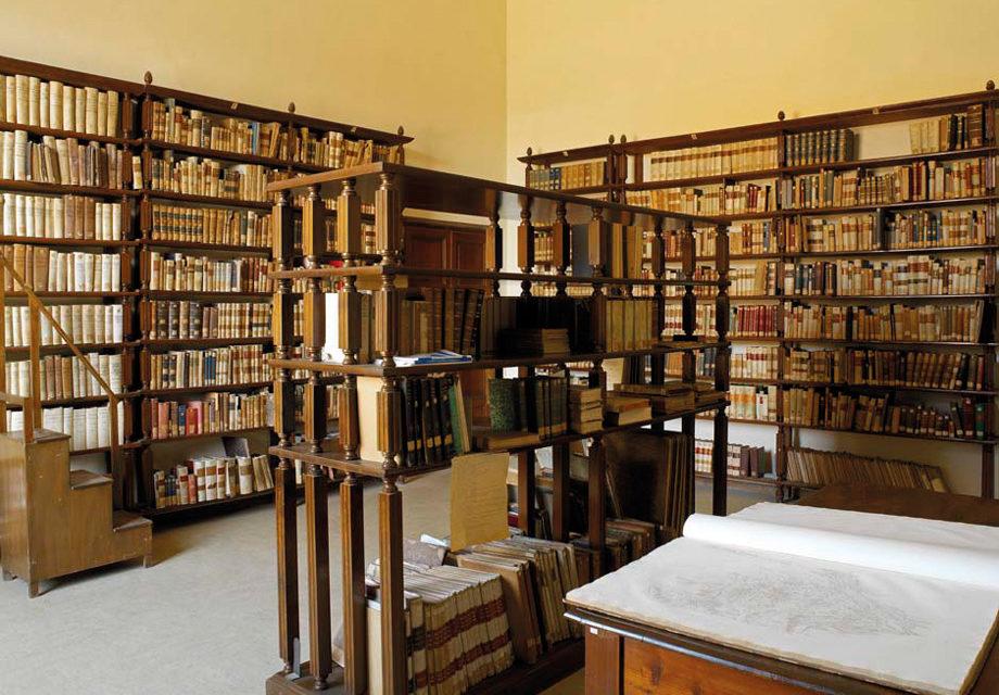 """La biblioteca anatomica """"Guglielmo Romiti"""""""