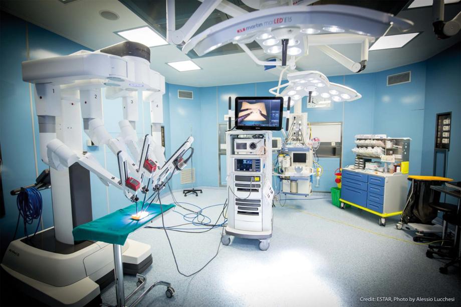 La cistectomia radicale<BR>laparoscopica robot-assistita